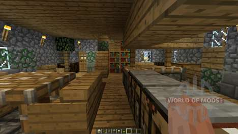 The Burrow pour Minecraft