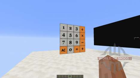 Calculator pour Minecraft