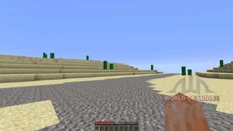 Arizona Custom Terrain test Hoodoo Desert für Minecraft