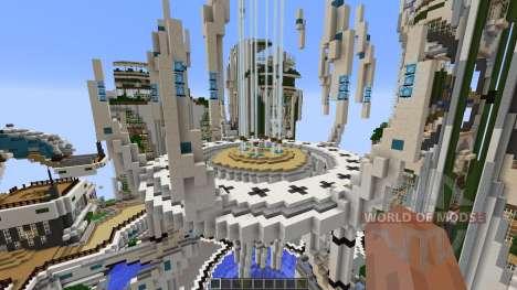 SuperHG Future City pour Minecraft