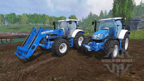 New Holland T6.160 v1.1 für Farming Simulator 2015