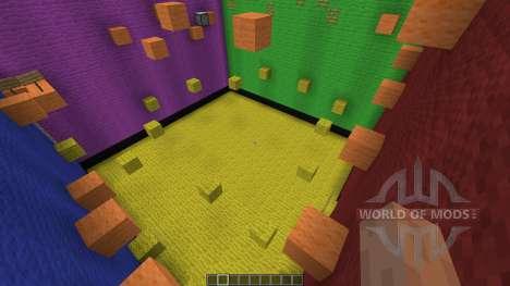 Rubix Cube Parkour pour Minecraft