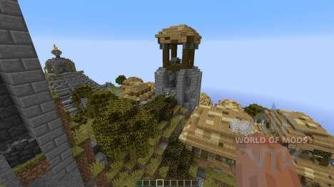 Azteque Forgotten Island für Minecraft