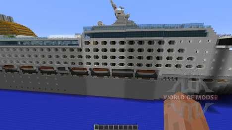 Oceana P O Cruises 1:1 Replica für Minecraft