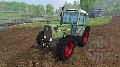 Fendt Farmer 310 LSA v2.4 für Farming Simulator 2015
