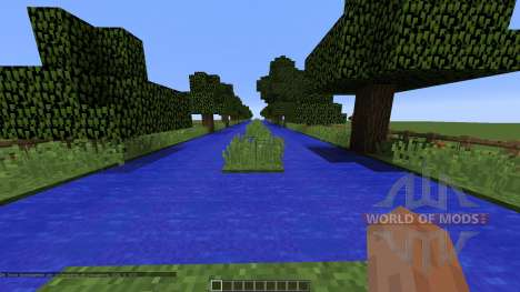 Water_PaRkouR pour Minecraft