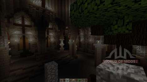 Postapocalyptic cathedral Halbshooter für Minecraft