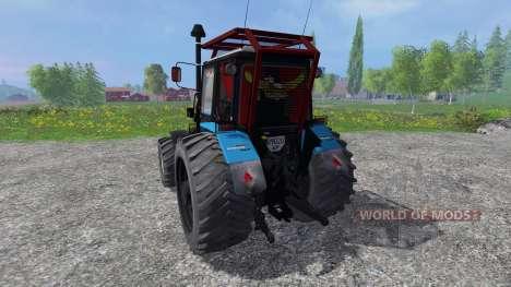 MTZ-V Biélorussie v2.0 pour Farming Simulator 2015