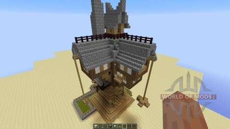 The Burrow für Minecraft