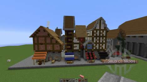Medieval building pack pour Minecraft