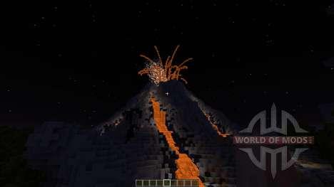 Volcano Island SG MAP pour Minecraft