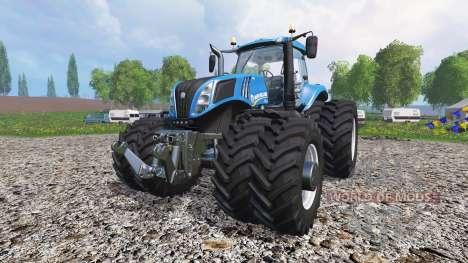 New Holland T8.435 v1.3 pour Farming Simulator 2015