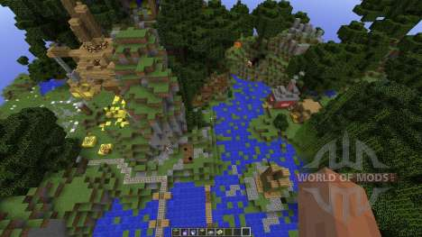 Minecraft SurvivalGames Map pour Minecraft