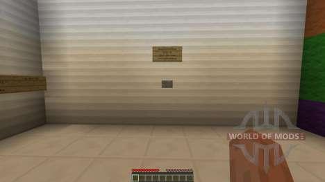 Tetris Escape pour Minecraft