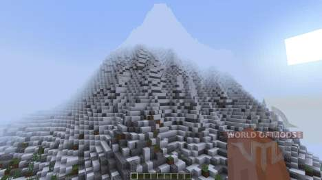 TheFireMountains Fantasy Landscape [1.8][1.8.8] pour Minecraft