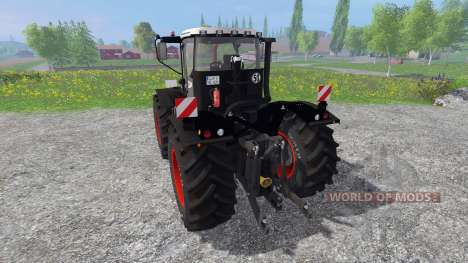 CLAAS Xerion 3300 TracVC Black Edition pour Farming Simulator 2015