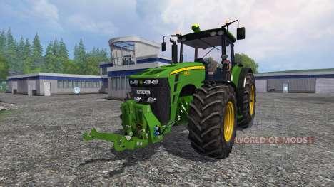 John Deere 8330 v4.1 pour Farming Simulator 2015