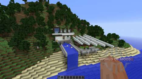 Modern Mountain House 1 für Minecraft