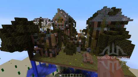 Abandoned Steampunk Island für Minecraft