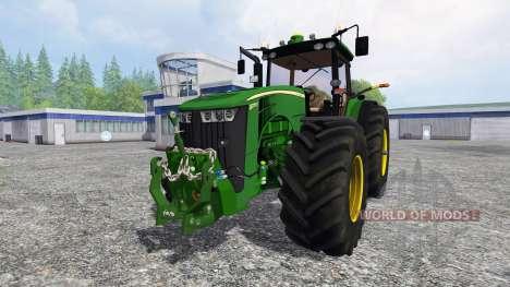 John Deere 8370R v3.1 für Farming Simulator 2015