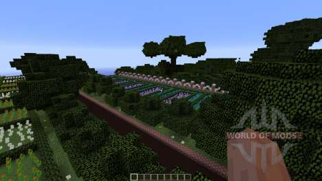 Mansion in the woods pour Minecraft