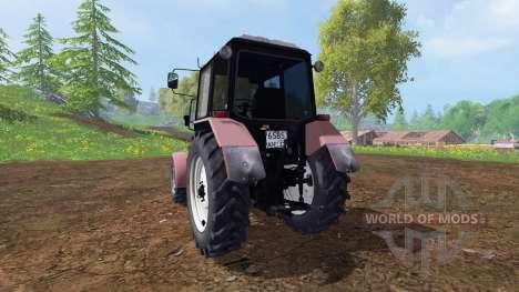 MTZ-Biélorussie 1025 v1.2 pour Farming Simulator 2015