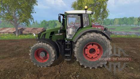 Fendt 828 Vario v2.5 für Farming Simulator 2015
