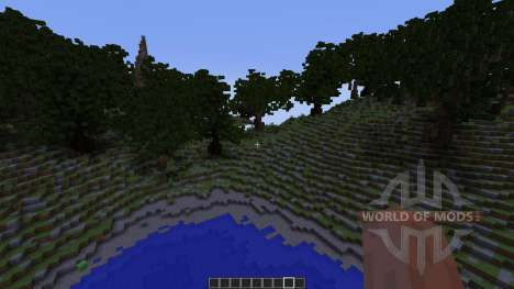 Alasya I First WorldPainter Map pour Minecraft