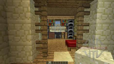AMBROSIA Simple Desert House [1.8][1.8.8] pour Minecraft
