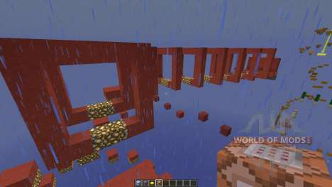 Stained Clay Parkour pour Minecraft