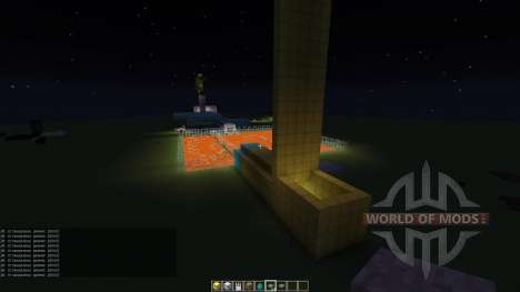 My parkour map für Minecraft