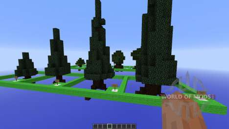 Moordegaais awesome tree pack für Minecraft