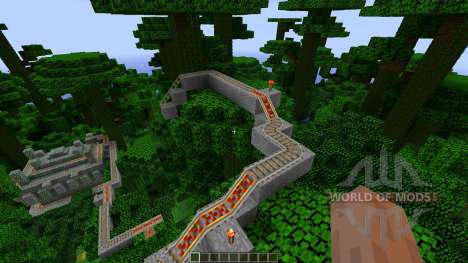 Jungle Temple Coaster für Minecraft