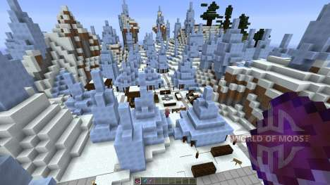 Icecube Village pour Minecraft