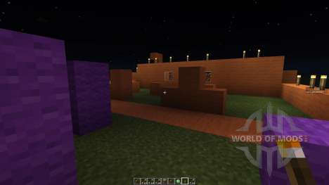 Paint ball map pour Minecraft