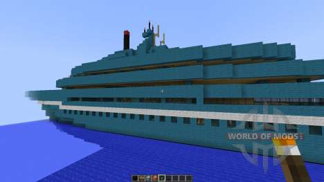 Cruise Yacht full interior [1.8][1.8.8] pour Minecraft