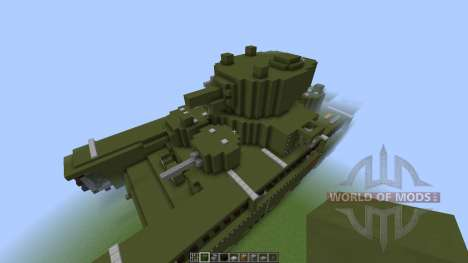 Soviet T-35 Heavy Tank [1.8][1.8.8] für Minecraft