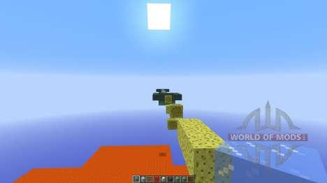 THE WORLDS HARDEST PARKOUR pour Minecraft
