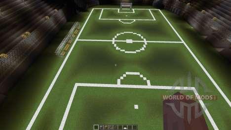 Huge soccer staduim für Minecraft