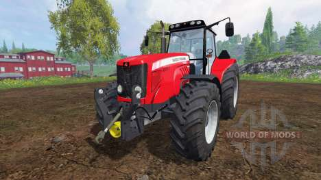 Massey Ferguson 7480 v2.0 pour Farming Simulator 2015