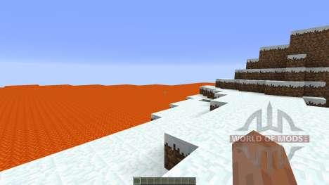 Lava island surival für Minecraft