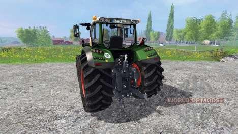 Fendt 724 Vario SCR v4.5 pour Farming Simulator 2015