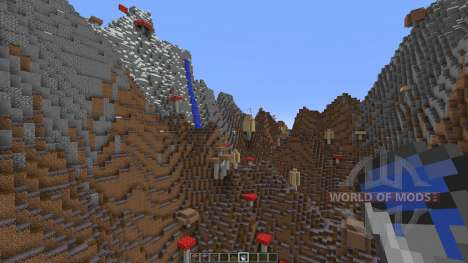 Mushroom Island V1 pour Minecraft