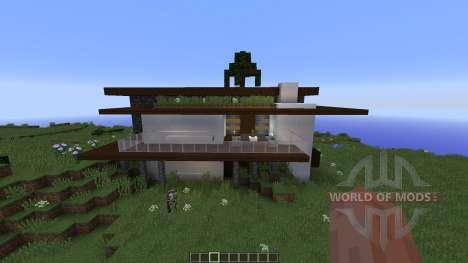 Kye Modern home für Minecraft