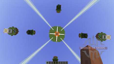 Natural Islands Skywars map [1.8][1.8.8] für Minecraft