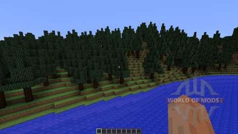 Mount Helium Part of Project Minecraftia pour Minecraft