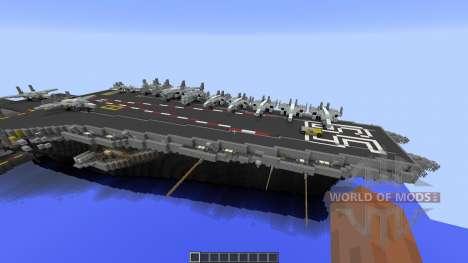 USS Enterprise CVN65 pour Minecraft
