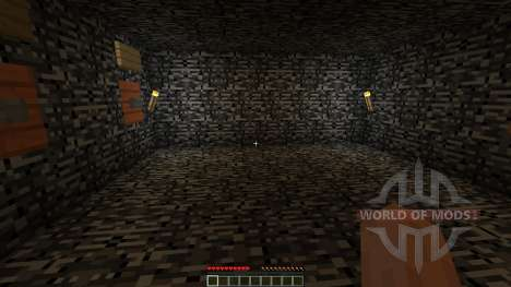 The TEST-chambers pour Minecraft