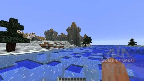 Frostfell Island für Minecraft