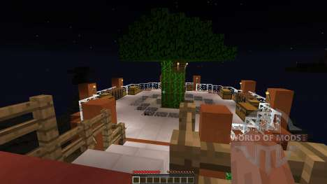 Epic Farm Base Treehouse für Minecraft